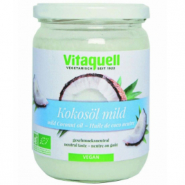 Vitaquell Huile de coco goût neutre 400g Vitaquell