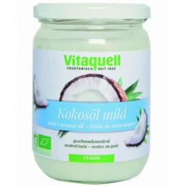 Vitaquell Huile de coco goût neutre 400g Vitaquell Savons / Gels douches Onaturel.fr