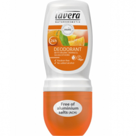 Lavera Déodorant Roll on Orange Argousier 50ml Lavera Hygiène Onaturel.fr
