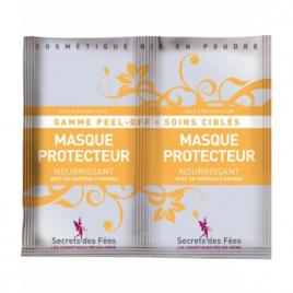 Secrets Des Fees Masque Peel off visage protecteur nourrissant à faire soi même 2x8g