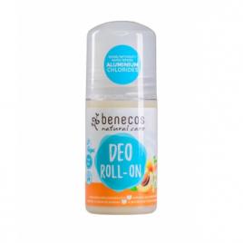 Benecos Déodorant Roll on Abricot et Fleur de sureau 50ml Benecos