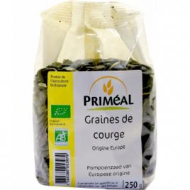Primeal Graines de courge 250g Primeal Savons / Gels douches Onaturel.fr