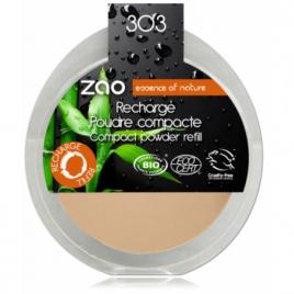 Zao Recharge Poudre Compacte 303 Brun Beige 9g Zao Make Up Anti-âge / Beauté Onaturel.fr