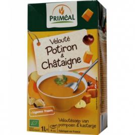 Primeal Velouté de Potiron et Châtaigne 1L Primeal Savons / Gels douches Onaturel.fr