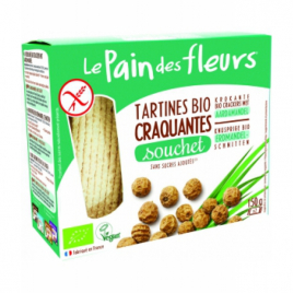 Le Pain Des Fleurs Tartines craquantes Souchet 150g Le Pain Des Fleurs