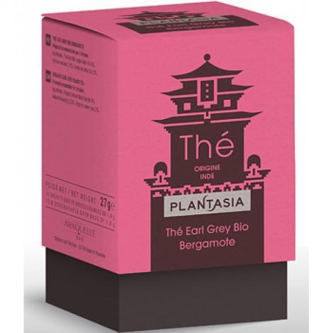 Plant Asia Thé Earl Grey Bio Bergamote 27g Plant Asia
