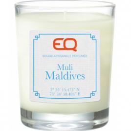 EQ Bougie artisanale parfumée Muli Maldives 180g