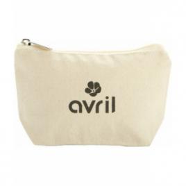 Avril Trousse coton bio moyen modèle Avril Beauté Accessoires Bio Onaturel.fr