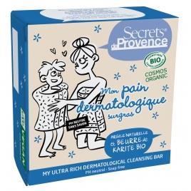 Secrets De Provence Mon pain dermatologique surgras 90g Secrets De Provence Hygiène Onaturel.fr