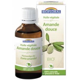 Biofloral Huile végétale Bio d'Amande douce 50ml Biofloral Huiles végétales Bio Onaturel.fr