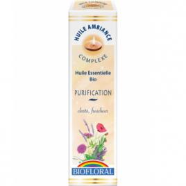 Biofloral Huile d'ambiance Purification 10ml Biofloral Parfum d'ambiance Onaturel.fr