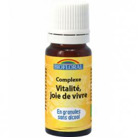 Biofloral Complexe floral n°2 Vitalité et joie de vivre en spray 20ml Biofloral Synergie huiles essentielles Bio Onaturel.fr