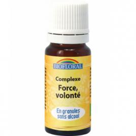 Biofloral Complexe floral n°3 Force et volonté en spray 20ml Biofloral Elixirs floraux - Dr Bach Onaturel.fr