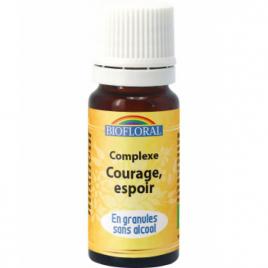Biofloral Complexe floral n°4 Courage et espoir en spray 20ml Biofloral Elixirs floraux - Dr Bach Onaturel.fr