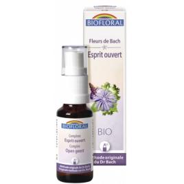 Biofloral Complexe floral n°8 Esprit ouvert en spray 20ml Biofloral Elixirs floraux - Dr Bach Onaturel.fr
