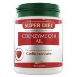 Super Diet Coenzyme Q10 Ail 180 capsules Super Diet Categorie temp Onaturel.fr