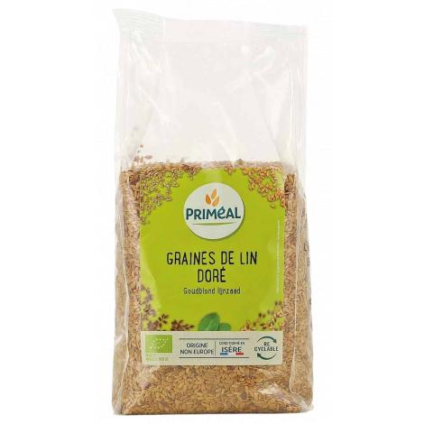 Primeal Graines de lin doré 500g Primeal