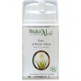 NaturAloe Gel baume d'Aloé Vera flacon 50ml NaturAloe Accueil Onaturel.fr