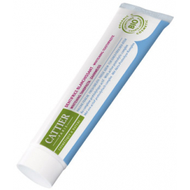Cattier Dentifrice blanchissant Eridène Haleine fraîche Tube 75g Cattier Dentifrices bio Onaturel.fr