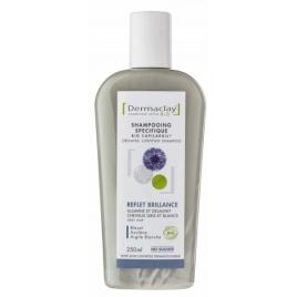 Dermaclay Shampoing reflet et brillance Cheveux Blancs et Gris 250ml Dermaclay  Soins colorants capillaires Onaturel.fr