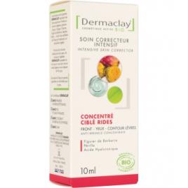 Dermaclay Concentré ciblé Rides Front Yeux Lèvres 10ml Dermaclay  Soins anti-âge Bio Onaturel.fr