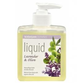 Sodasan Savon liquide Lavande Olive 300ml Sodasan Accueil Onaturel.fr