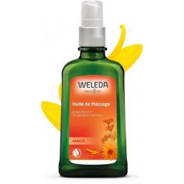 Weleda Huile de massage à l'arnica 100ml avec pompe Weleda Accueil Onaturel.fr