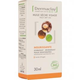 Dermaclay Huile sèche visage Peaux matures et déshydratées Argan 30ml Dermaclay  Huiles végétales Bio Onaturel.fr
