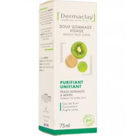 Dermaclay  Gommage doux visage unifiant purifiant 75ml