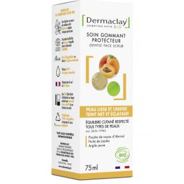 Dermaclay Gommage doux visage hydratant lissant 75ml Dermaclay  Gommage visage Onaturel.fr