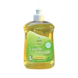 Liquide vaisselle concentré 500ml Harmonie Verte Vaisselle Mains Bio Onaturel.fr