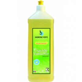 Liquide vaisselle concentré 1L Harmonie Verte Vaisselle Mains Bio Onaturel.fr