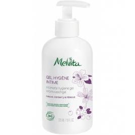 Melvita Gel hygiène intime Mauve Cranberry Hibiscus 225 ml Melvita Hygiène féminine bio - serviettes périodiques Onaturel.fr