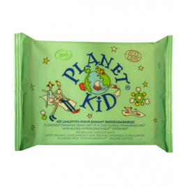 Planet Kid 40 Lingettes Enfants Amande Douce Hamamélis Planet Kid Accueil Onaturel.fr