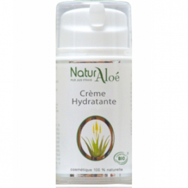 NaturAloe Crème hydratante Aloé Vera 50ml NaturAloe Categorie temp Onaturel.fr