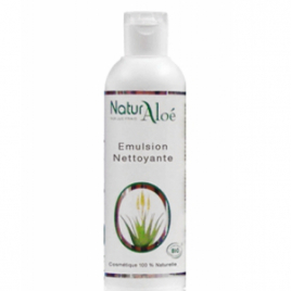 NaturAloe Emulsion nettoyante Aloé Vera 200ml NaturAloe Categorie temp Onaturel.fr