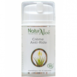 NaturAloe Crème anti rides Aloé Vera 50ml NaturAloe Categorie temp Onaturel.fr