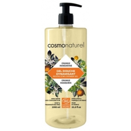 Cosmo Naturel Bain douche Fruité Orange Mandarine 1L Cosmo Naturel Soins du corps Bio Onaturel.fr