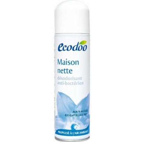 Ecodoo Désodorisant Maison Nette Anti bactérien aux 9 huiles essentielles 125ml