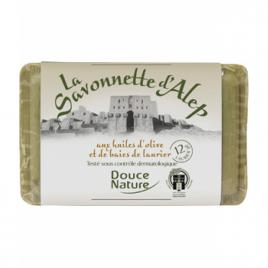 Douce Nature Savonnette d'Alep 12% d'huile de baies de Laurier 100g Douce Nature Savons d'Alep / Marseille Onaturel.fr