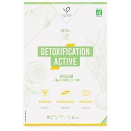Bio Conseils Détoxification active Radis noir Bouleau et Citron 20 ampoules de 10ml Bio Conseils Détoxication Onaturel.fr