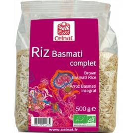 Celnat Riz Basmati long complet 500g Celnat Pâtes et Riz bio Onaturel.fr