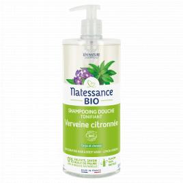 Natessance Shampooing douche Verveine Citron Sans Sulfates 1L Natessance