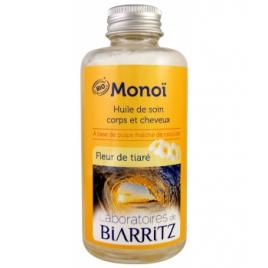 Laboratoires De Biarritz Monoi Fleur de Tiaré 100ml Laboratoires De Biarritz Accueil Onaturel.fr