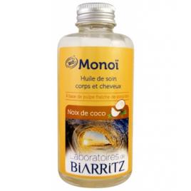 Laboratoires De Biarritz Monoi Noix de Coco 100ml Laboratoires De Biarritz Accueil Onaturel.fr