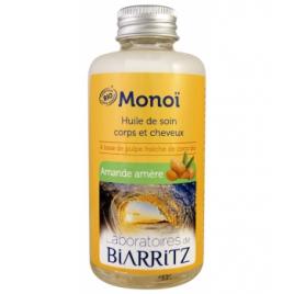 Laboratoires De Biarritz Monoi Amande Amère 100ml Laboratoires De Biarritz Accueil Onaturel.fr