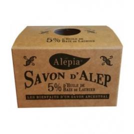Alepia Savon d'Alep 5% Laurier 190g Alepia Savons d'Alep / Marseille Onaturel.fr