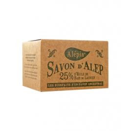 Alepia Savon d'Alep 25% Laurier 190g Alepia Savons d'Alep / Marseille Onaturel.fr