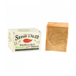 Alepia Savon d'Alep excellence pure Olive 190g Alepia Savons d'Alep / Marseille Onaturel.fr