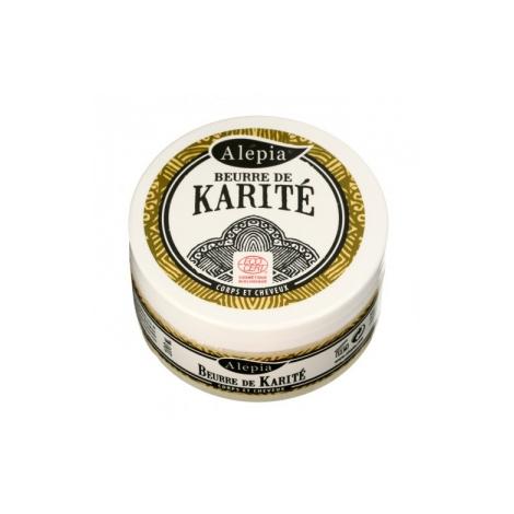 Alepia Beurre de Karité raffiné Bio Pot 100ml Alepia